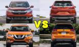 """So kè 2 đối thủ """"nặng ký"""" Honda CRV 2018 và Nissan X-Trail"""