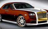 Rolls-Royce dát vàng 24K giá 1 triệu bảng lộ diện