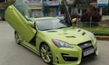 Hyundai Genesis độ cửa cắt kéo Lamborghini ở Thanh Hóa