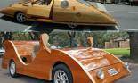 Ngắm những chiếc xe bằng gỗ vẫn có thể chạy được trên đường