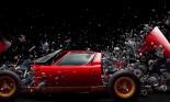 Ấn tượng với khoảnh khắc Lamborghini Miura nổ tung từng mảnh