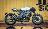 """""""Mãnh thú"""" Kawasaki Z1000 lột xác với phong cách cafe racer cực độc"""