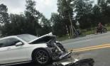 Mercedes-Benz GLC 300 'nát đầu' sau va chạm với xe bồn tại thành phố mới Bình Dương