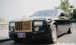 """""""Soi"""" hàng hiếm Rolls-Royce Phantom độ  phiên bản Rồng vàng 15 tỷ"""