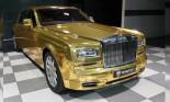 Tỉ phú Ấn Độ chơi lớn khi lấy Rolls-Royce Phantom mạ vàng làm taxi
