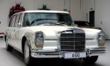 Sau 7 năm phục hồi, Mercedes-Benz 600 Pullman 1975 có giá gấp 11 lần Maybach S650