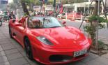 Ngắm Ferrari F430 Spider – siêu xe đời đầu  tại Hà Nội – xuống phố