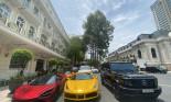 Bộ tứ siêu xe xuống phố cuối tuần náo động Sài Gòn