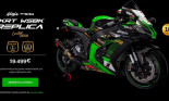 Kawasaki tung ra Ninja Zx-10R bản giới hạn lấy cảm hứng từ WSBK
