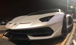 Lamborghini Aventador SVJ màu trắng bất ngờ cập cảng Đình Vũ