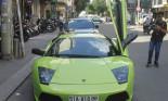 Lamborghini Murcielago màu xanh cốm của đại gia Hải Phòng tái xuất Sài Gòn