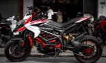 Ngắm chiến mã Ducati Hypermotard 821 SP cùng loạt đồ chơi cực khủng trị giá hàng trăm triệu đồng tại Hà Nội
