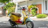 Khám phá Vespa Primavera Sean Wotherspoon bản đặc biệt giới hạn 50 chiếc tại Việt Nam giá 135 triệu