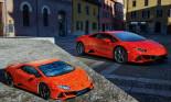 """Lamborghini ra mắt Huracan EVO giá…35 Euro phiên bản """"ghép hình"""""""