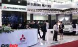 """Gian hàng Mitsubishi """"thực dụng"""" nhất tại Vietnam Motor Show 2012"""