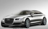 Audi A8 lộ bản thiết kế
