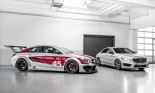 Mercedes-Benz ra mắt mẫu xe đua CLA 45 AMG mới