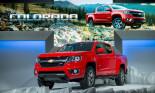 Chevrolet Colorado 2015 có giá từ 20.100 USD