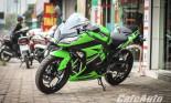 """""""Hàng nóng"""" Kawasaki Ninja 300 Special Edition về Hà Nội"""