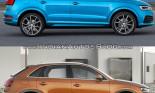 So sánh Audi Q3 cũ và mới