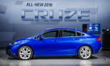 Chevrolet Cruze 2016: giá rẻ, tiết kiệm nhiên liệu