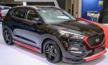 Hyundai Tucson GLS ra mắt tại Indonesia International Motor Show 2016