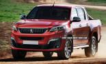 PSA Peugeot Citroen sắp tung ra mẫu pick-up dựa trên Toyota Hilux