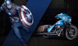 Harley-Davidson dành 25 mẫu xe cho các siêu anh hùng Marvel