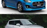 So sánh Suzuki Swift 2017 với Suzuki Swift 2010 qua ảnh