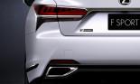 Lexus LS 500 F Sport được nâng cấp tăng khả năng xử lý linh hoạt