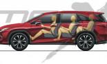 Lexus RX bản 7 chỗ sắp ra mắt
