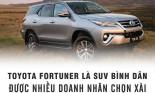Toyota Fortuner là SUV bình dân được doanh nhân chọn xài