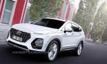 Hyundai SantaFe 2019 sẽ đậm chất thể thao hơn