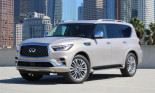 Diện mạo ấn tượng của SUV hạng sang Infiniti QX80 2018 sắp ra mắt