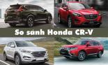 So sánh Honda CR-V với 3 đối thủ cùng phận khúc tại Việt Nam