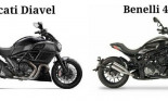 "Benelli 402S ""nhái\"" táo bạo Ducati Diavel"