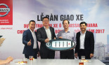 Nissan Việt Nam bàn giao Lô xe Nissan Navara cho các Trung tâm Phát hành Phim và chiếu bóng toàn quốc