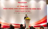 Những con số ấn tượng của Honda Việt Nam trong năm tài chính 2018