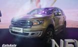 Ford Everest 2018 ra mắt so kè Fortuner, giá từ 1,12 tỷ đồng