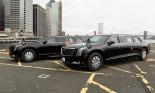 """""""Quái vật"""" Cadillac The Beast mới của ông Trump bất ngờ xuất hiện trên đường phố"""