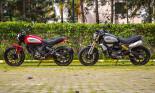 Ngắm siêu phẩm Ducati Scrambler 1100 nhào lộn trong bom tấn Venom