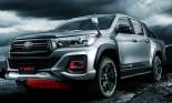 Ngắm Toyota Hilux 2019 đầy mạnh mẽ với gói độ TRD Black Rally Edition