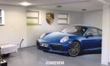 Ngắm Porsche 911 3D như thật trong garage