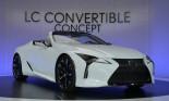 Lexus LC Convertible – Đối thủ của BMW 8 Series Convertible trình làng