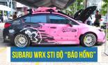 """""""Báo hồng"""" Subaru WRX STI mẫu xe dành nhiều cúp vàng tại giải đấu Âm thanh Xe hơi Quốc tế"""