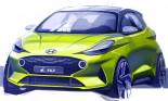 Hyundai i10 thế hệ mới lộ thiết kế