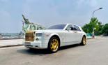 Khám phá Rolls-Royce Phantom tứ quý 9 mạ vàng từng của đại gia Thái Nguyên