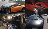 Điểm mặt những siêu xe tiền tỷ dính tai nạn nghiêm trọng