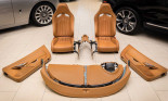 Khám phá 'bộ ghế sofa' của Bugatti Veyron có giá 3,5 tỷ đồng