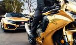 Đã mắt với bộ sưu tập xe vàng kỷ niệm 50 năm của Honda
